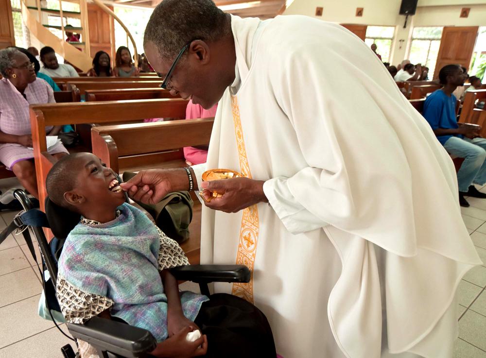 Father Garvin Eucharist