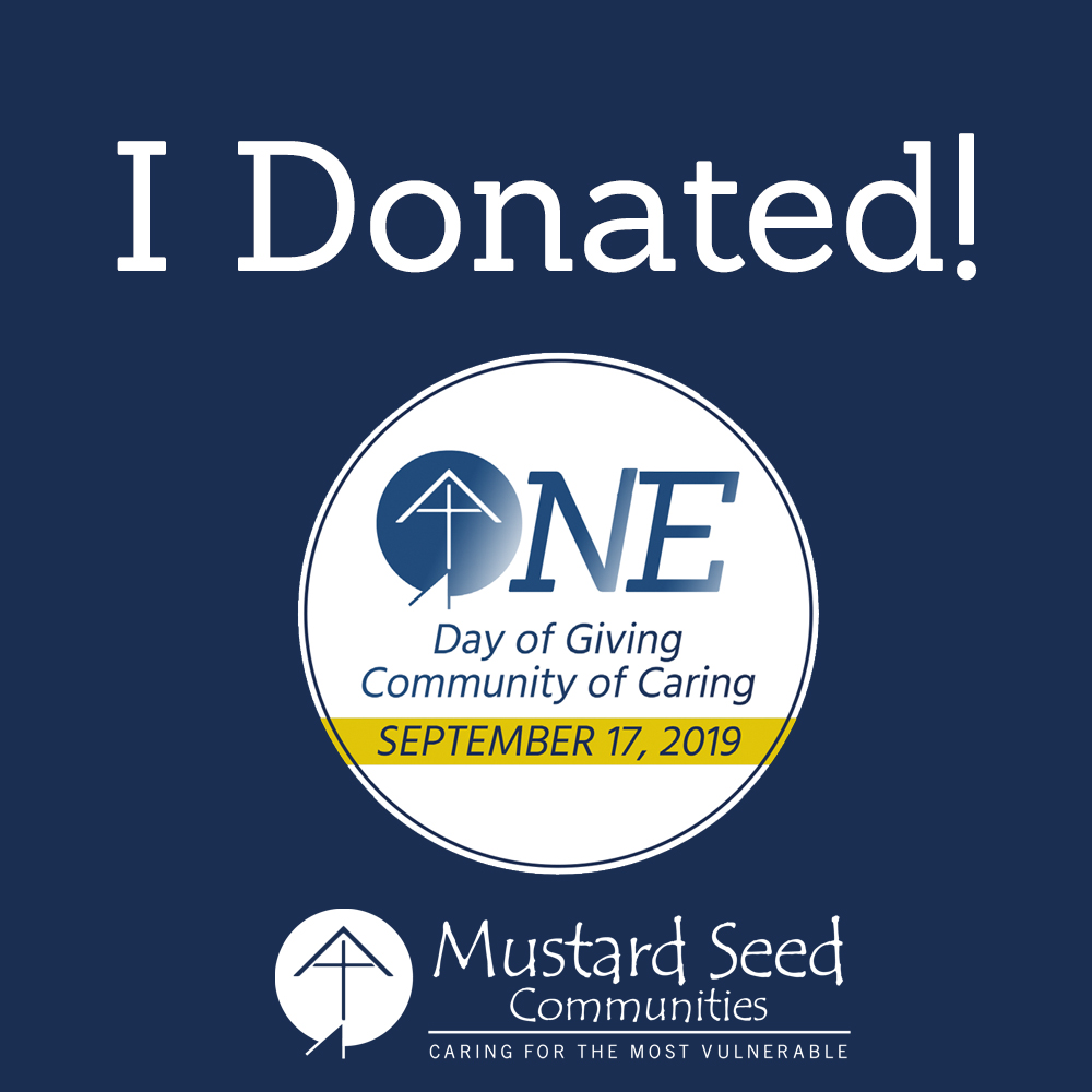 Giving Day 2019 - I Donated