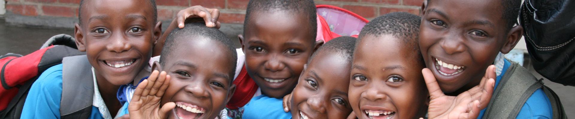 Students of LALC Zimbabwe