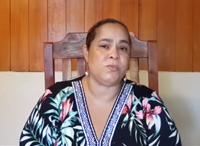 Julia Estela Castillo Bryan, Administrator of Hogar Belen Diriamba