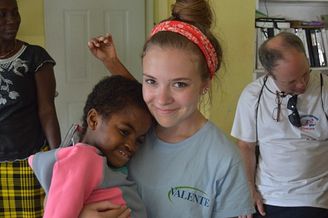 Georgia Moriarty Mission Trip