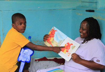Donovan, Sophie's Place, Jamaica, developmental disabilities