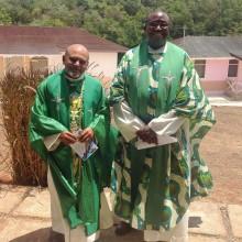 Msgr Gregory & Fr Garvin