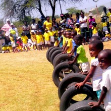 Sports Day, LALC Zimbabwe, early childhood, bulawayo